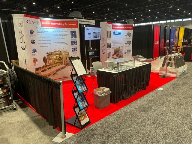 CVE's booth at Fabtech Chicago 2021