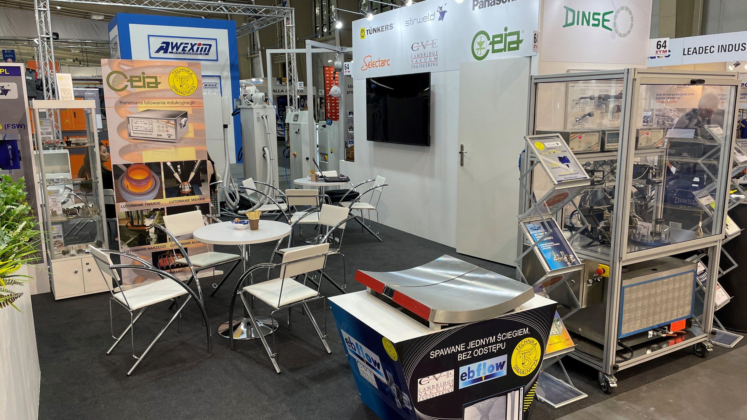 CVE Exhibit at ITM Industry Europe Trade Fair